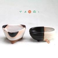 Flower pot meat more pulp plant ceramic coarse pottery flower pot