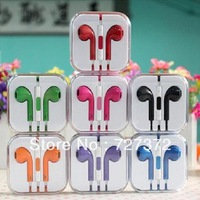 Colorful 3.5mm Earbuds EarPod Earphone Headphone w/ Remote & Mic For iPhone 5 5G