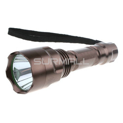 Best Price Aluminum Waterproof 5 Modes 500 Lumens CREE T6 LED Flashlight Torch + Free Shipping(China (Mainland))