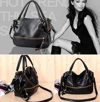BBG0332 New Occident rivet tassel PU leather girl women lady Messenger handbag shoulder bag totes Drop free shipping