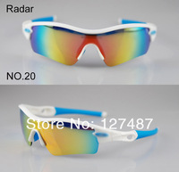 2011 new RADAR Bicycle Bike sunglasses ride sunglasses sports sunglasses cycling sunglasses with 5pairs lens Free shipping