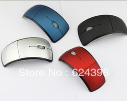 2013Hottest New Style Wireless Folding Mouse For Personalized Gift(China (Mainland))