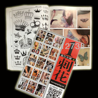 China popular design tattoo flash book -cihua VOL.1 Popular small design A - free shipping
