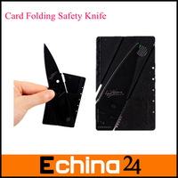 Hot Items Credit Card Size Folding Safety Knife Folding Blade Knife 10pcs/lot wholesale and Free Shipping