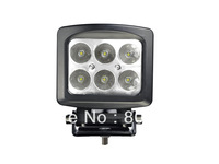 10-30V DC input 12LEDs 60W 6000Lum CREE LED WORK LIGHT - SUPER SHOCK PROOF - LIGHT TRUCK 4WD fog cree led offroad light!