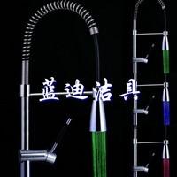 New Limited Torneira Torneira De Cozinha Kitchen Faucet Home Garden Led Kitchen Puick Luminous Shower Ld8009-a1 A2 2a05e