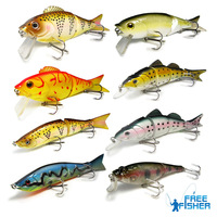 On Sale 8pcs high quality fishing hard lures/baits OSML02