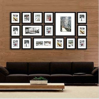 fashion romantic photo frame combination wall