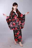 Kimono women's kimono costume formal costume bathrobe unique l016