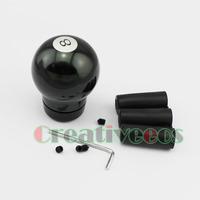 Black Snooker Metal Manual Car Gear Shift Knob Universal MT Shifter