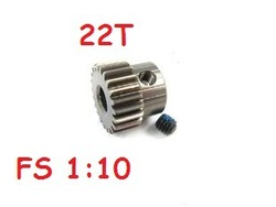 FS Racing Art 1:10 Brushless Motor Gear 22T Rc Spare Parts Part Accessory Accessories Rc Car(China (Mainland))