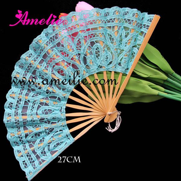 10 pcs/lot Free Shipping wedding Fan(China (Mainland))