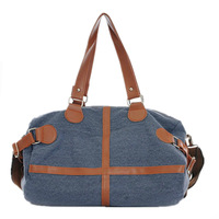 2013 women's handbag fashion all-match canvas bag portable one shoulder cross-body bags large