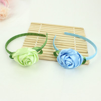 2013 New Arrival, 24pcs/lot Fashion Rose Baby Girl's Head bands Hairband, Kids Hair Accessories, Wholesale, TS13582