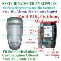 Outdoor Waterproof Wired Dual PIR Detector for Security Alarm 4/Lot