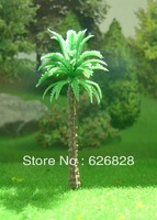 Sand table model tree coconut tree model palm tree 60mm