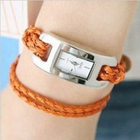 Free Shipping Dress Women Wrist  Luxury Watches For Fashion,Genuine Leather