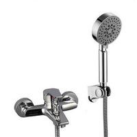 Copper shower shower set