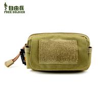 YKK Cordura Outdoor edc accessories bag service package mini waist pack mobile phone bag cordura carry a small bag Size:13*8*5CM