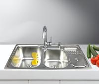 Stainless steel kitchen sink garbage bucket belt tool holder