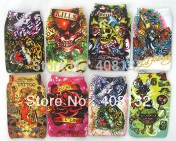 Wholesale - 200pc cartoon ED Heady design Mobile Phone Holder Cases Pouch Socks