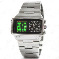 free shipping NO.902 Mixed Color WEIDE brand Men Digital Quartz dual time sport watches 5pcs/lot good quality