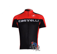 Hot sale black&red bike cycling jersey summer outdoor sports wear bicycle outfit size S-XXXL