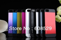Newest SPIGEN SGP Slim Saturn Aluminum Case For iPhone 5 5g + Retail Package + Dropship MOQ:1PCS Free shipping 9 colors
