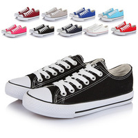 Autumn canvas shoes male lovers design low canvas shoes casual shoes black shoes