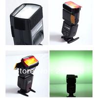 new arrivel 12pc Strobist Flash Color Lighting Gel Pop Up Filter  2ps/lot