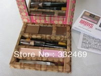 6SET/set High quality brand Professional makeup Eyebrow Kits,A-GO-GO BROWS brow&eye shaping kit.free shipping