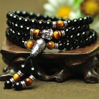 2013 5 Colours Fashion jewelry agate bracelet beads 70-72cm*6mm handmade bracelet lucky bracelets crosses to make bracelets B4
