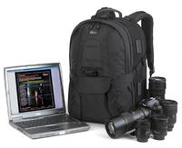 """Freeshpping Lowepro compuTrekker AW Photo DSLR Camera&17"""" Laptop Bag Digital SLR travel Backpack case+rain Cover for nikon canon"""
