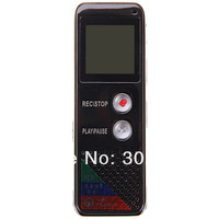 Multifunctional Rechargeable Real 4GB 650HR Digital Audio Voice Recorder Dictaphone MP3 Player  Long distance recording