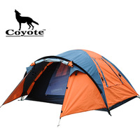 Coyote outdoor camping tent double layer tent tourism tents
