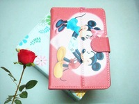 """7T A06  New Design  Child 's gift   leather Case Fit All  7"""" 7 Inch Leather Case Protective  Case Fit  7 inch Size Pc Tablet"""