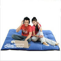 Double inflatable cushion moisture-proof pad automatic inflatable cushion automatic tent inflatable mattress pillow