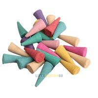 LS4G 25 Mix Stowage Colorful Fragrance Triple Scent Incense Cones Potpourri