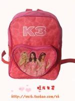 Oxford fabric k3 student bag school bag child
