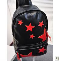 2013 backpack color block for middle school students school bag laptop bag travel bag