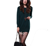 Brand New 2013 style fashion personality women sweater dress 100% Authentic popula best-selling+ free shipping