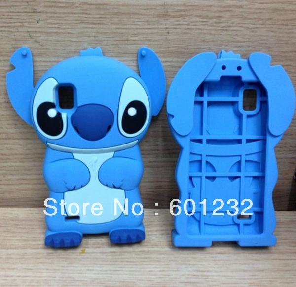 3D-Cute-Stitch-Silicon-Case-for-LG-Optimus-L9-P760-Silicone-lilo-cover ...