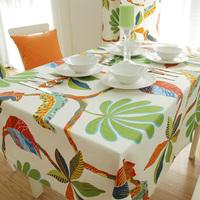 wholesale Active 100% cotton canvas table cloth/white linen tablecloths/cheap banquet tablecloths