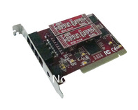 4 Channel Telephone recording Card, PCI telephone record card, voice recorder