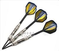 3 PCS Electroplate Copper Steel Needle Streamline Tip Dart Darts Fast Flag Flight