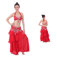 new arrival girls costumes sexy Quality belly dance clothes indian dance costume set belly dance set dresses ballroom dress