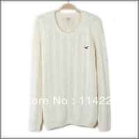 Women Long Sleeve O-neck Knitted Pullovers Lady Autumn and Winter Sweater Knitting