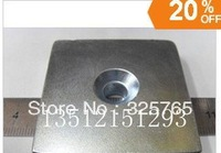 N35 (Nd-Fe-B) ndfeb magnets 50mmx50mmx25mm  powerfull magnets 1pcs free shipping