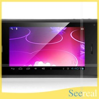 L26 7 Inch Android Tablet Allwinner A10 2G GSM Tablet Phone Android 4.0 Tablet PC 512MB 4GB Dual Camera Bluetooth Wifi