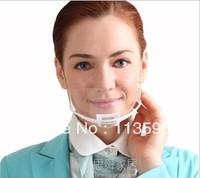 Freeshipping  2013 New Style Men and Women's Smiling Mascare Transparent Anti-fog Masks